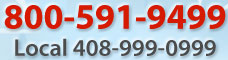 800-541-9499 Local 408-591-9499
